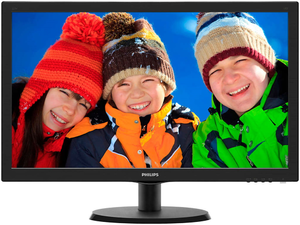 Купить Монитор Philips 223V5LHSB (Black)