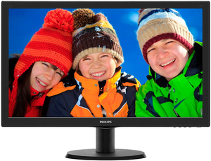 Купить Монитор Philips 243V5LHAB (Black)